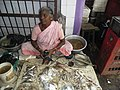 Fish shop by a woman.JPG