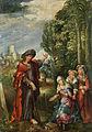 Flämisch 16 Jh Christus als Gärtner vor den drei Marien.jpg