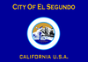 Flag of El Segundo, California
