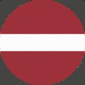 Flag of Latvia - Circle-512.png