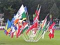 Flags at Josef Odlozil Memorial in Prague 14June2010 02.jpg