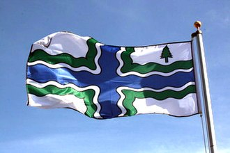 Lynden, Ontario - The Flag of Flamborough
