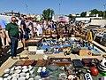 Flea market at Zamkowy Square in Lublin, Aug 2019, 04.jpg