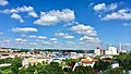 Flensburg Jürgensby mit Blick auf den Flensburger Hafen ( hier, offener Kanal Flensburg OKFL ) - panoramio.jpg