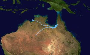 Tropical Low Fletcher - Image: Fletcher 2014 track