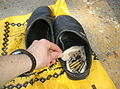 Flickr - Israel Defense Forces - M-16 Bullets Hidden in Palestinian's Shoes.jpg