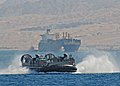 Flickr - Official U.S. Navy Imagery - A Landing Craft Air Cushion leaves the shore of Aqaba, Jordan..jpg