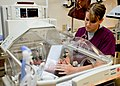 Flickr - Official U.S. Navy Imagery - A nurse examines a newborn baby..jpg