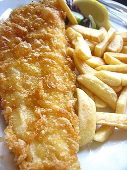 Flickr adactio 164930387--Fish and chips