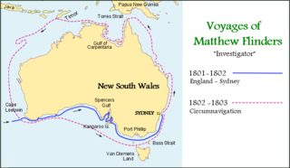 1814 book by Matthew Flinders describing his circumnavigation of the Australian continent