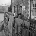Floods at Llanrwst, January 1965 after a dam on an old lead mine reservoir burst (7367965326).jpg