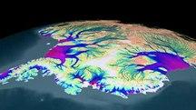 Ανταρκτική-Πάγοι και παγκόσμια στάθμη της θάλασσας-Flow of Ice Across Antarctica.ogv