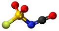 Fluorosulfonyl isocyanate3D.png