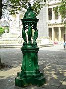 fontaine jardin fonte