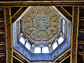 Fontainebleau Château de Fontainebleau Innen Hohe Kapelle Saint-Saturnin Kuppel 1.jpg