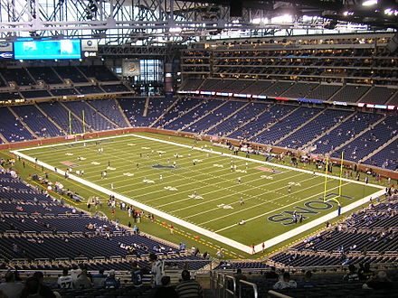 Ford Field, home of the Detroit Lions Ford-Field-September-10-2006.jpg