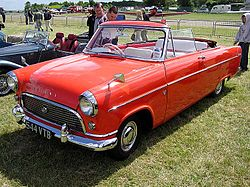 Ford Consul II convertible, date unknown