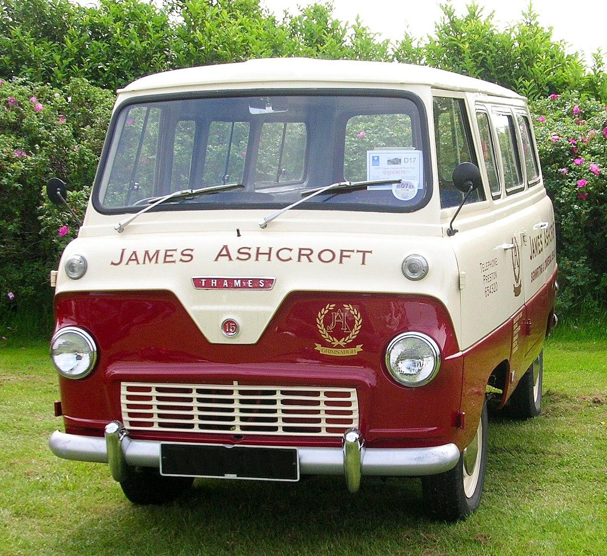 Swiss Vans Large Uk Ford: Ford Thames 400E