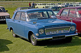 Una Ford Zephyr 4 Mark III (211E)