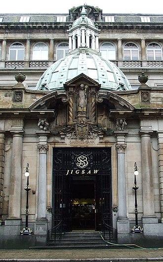 John James Burnet - Glasgow Savings Bank, 177 Ingram Street, Glasgow (1896)