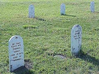 Fort Buford - Image: Fort Buford Grave Phil Konstantin