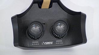 VFX1 Headgear - Lenses inside the visor