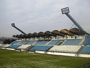 FK Drnovice - Football stadium of the club