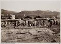 Fotografi av Kimons mur vid Akropolis i Aten - Hallwylska museet - 103043.tif