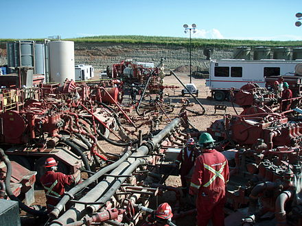 A fracturing operation in progress Frac job in process.JPG