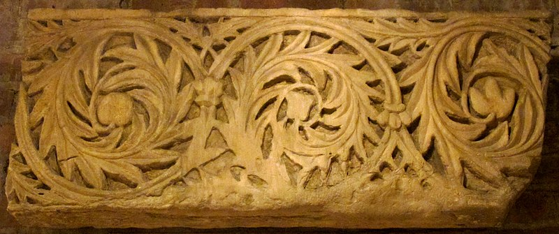 File:Fragment of Frieze with Acanthus Leaves Encircling Fruit and Flowers MET sf10-175-96s1.jpg
