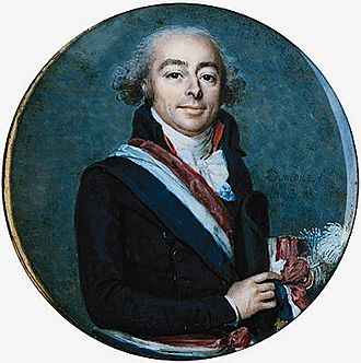 French Directory - François Antoine de Boissy d'Anglas, one of the principal authors of the Constitution of 1795, which created the Directory