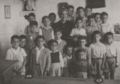 Francisca Santos Melián con sus alumnos.png