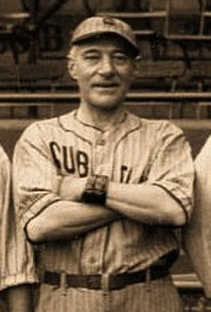 Frank Knauss - Knauss at a  1921 Old Timers game at League Park, Cleveland.