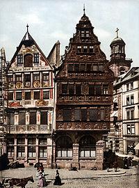 Frankfurt am Main-Roemer-Salzhaus-Front Photochrom.jpg