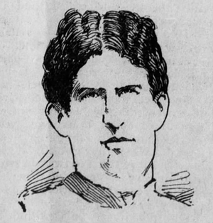Frank O. Rogers - Depiction of Rogers c. 1898
