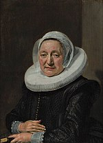 Frans Hals - portrait of a woman holding a book - 1639.jpg