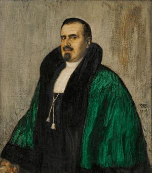Josef Albert Amann - Josef Albert Amann, portrait by Franz Stuck.