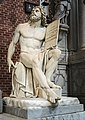 Frari (Venice) nave right - Monument of Titian - Ferdinand I of Austria.jpg
