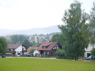 Frauenau Place in Bavaria, Germany