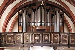 Freudenburg, Kirche zur Heiligen Dreifaltigkeit, die Orgel.jpg