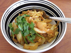 Fried cabbage dish.JPG