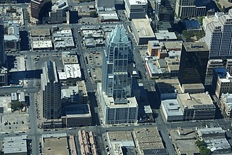 Frost Bank Tower - Image: Frost Tower Aerial