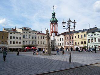 Frýdek-Místek - Místek town square