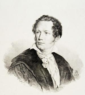 Fryderyk Skarbek - Fryderyk Skarbek, by Adolf Piwarski, 1837