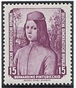 GDR-stamp Pinturicchio 1955 Mi. 506.JPG