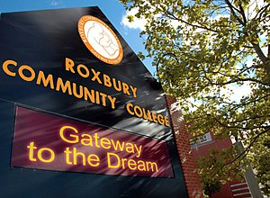 Roxbury Community College - Image: GTTD