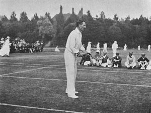 George Hillyard - George Hillyard at Eastbourne