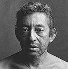 head shot of Serge Gainsbourg