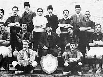 1908–09 Istanbul Football League - Istanbul Sunday League - Galatasaray SK 1908-09 Champion