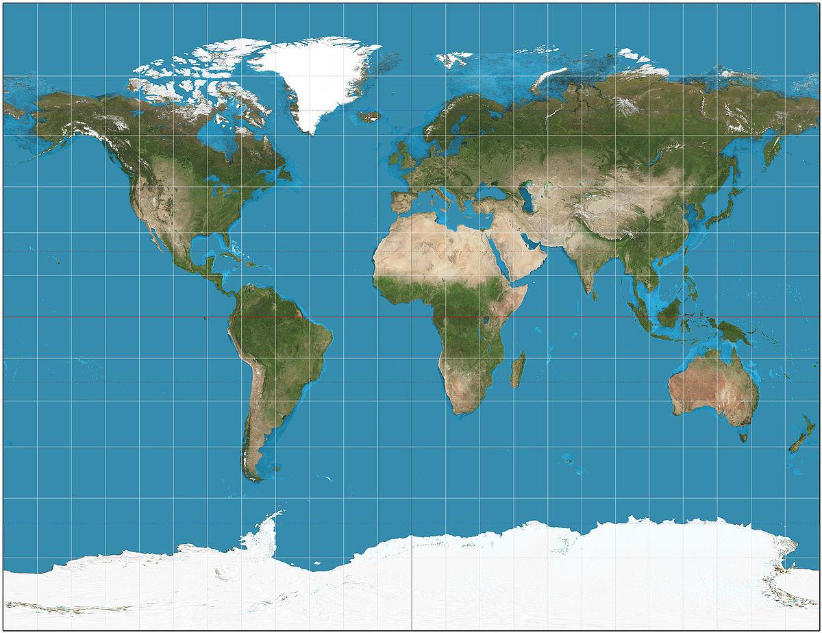 World Map ~ Edible Cake Image ~ 1/4 Sheet Designer Strips ... |Word Nap